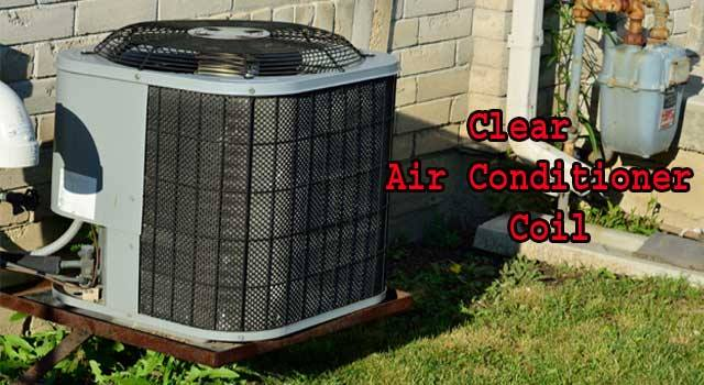 How to Clean Air Conditioner Coils