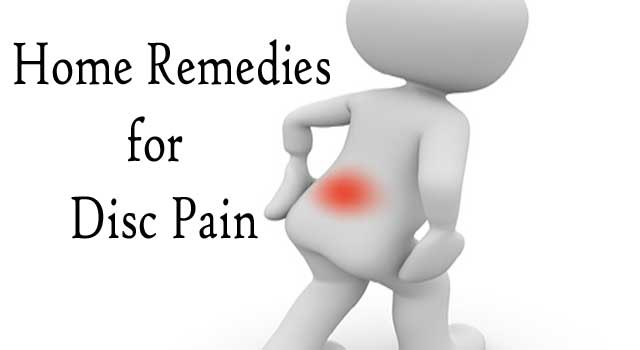 Home Remedies for Disc Pain