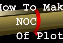 How to Make NOC of Plot