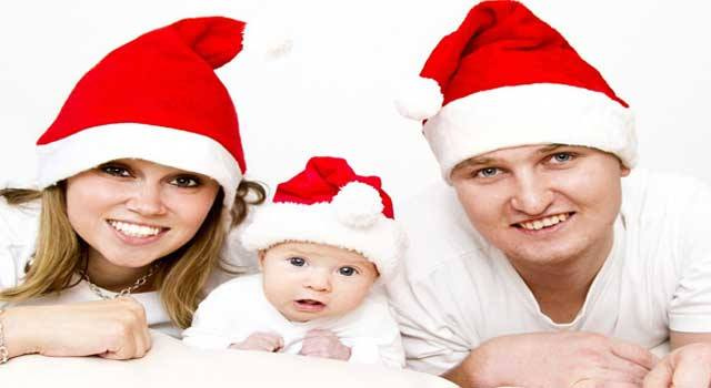 How to Make Christmas with Your Baby