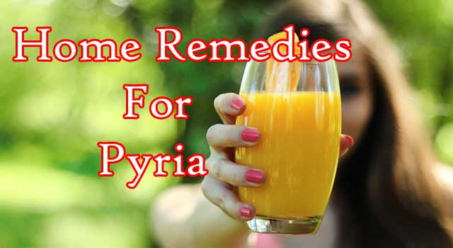 Home Remedies for Pyria