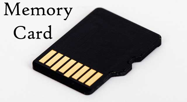 How Memory Card Works