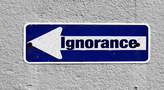How to Tolerate Ignorance