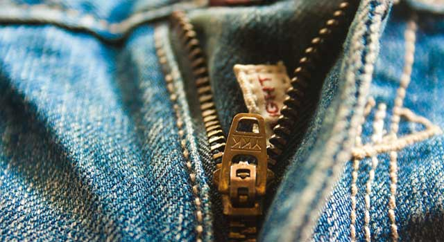 How to Repair Your Old Jeans Zip
