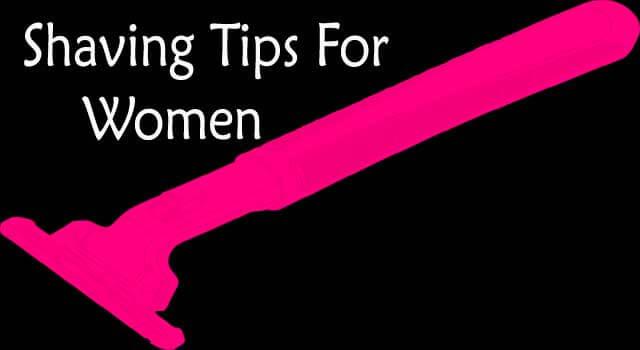 shaving tips for extremely sensitive skin for women