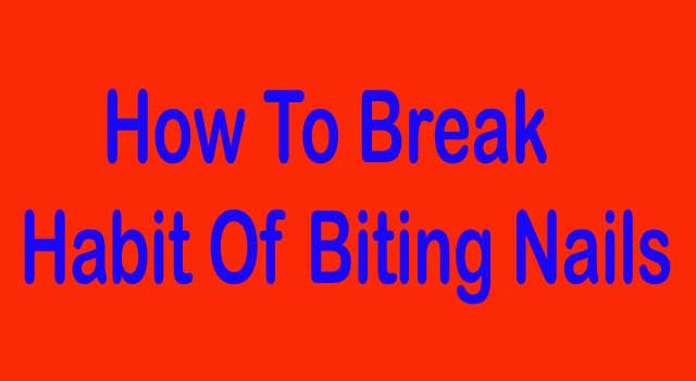 How to Break the Habit of Biting Nails