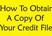 How to Obtain a Copy of Your Credit File?