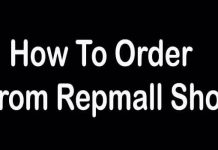 How to Order From Repmall Shop