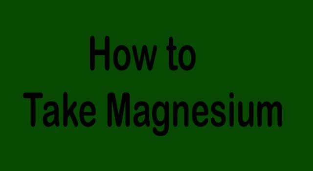 How to Take Magnesium for Sleep and Anxiety