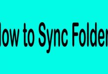 How to Sync Folders